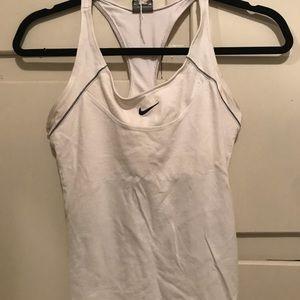 Nike built in sports bra running tank. Dri fit.